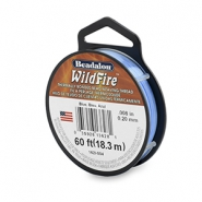 Beadalon Wildfire Wire 0.20mm Blue
