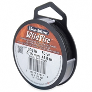 Beadalon Wildfire Wire 0.15mm Black