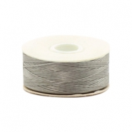 Beadalon Nymo Wire 0.3mm Grey