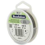 Beadalon Schmuckdraht 7 Stränge 0.51mm Bright Stainless Steel