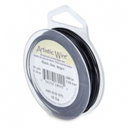 18 Gauge Artistic Wire Black