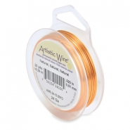 24 Gauge Artistic Wire Natural copper