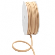 Gestepptes Elastisches Band Ibiza Nude beige light brown