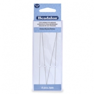 Beadalon flexibel Reihnadel 12.7mm medium Silber