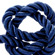 Trendy Kordel Weave 10mm Dark blue