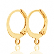 DQ Ohrringe 12mm gold plated