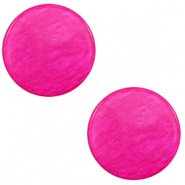 20 mm flach Cabochon Polaris Elements Lively Magenta purple
