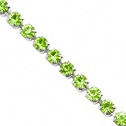 Strass Ketten Lime green-silver