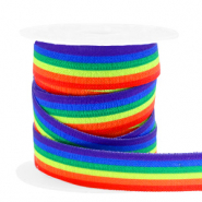 Elastisches Band Regenbogen Multicolour