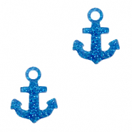 Plexx Anhänger Anchor Glitter Royal blue