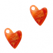 Plexx Anhänger Heart Warm orange