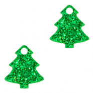 Plexx Anhänger Christmas Tree Glitter Irish green