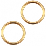 DQ Metall dichte Ring 13.5 mm gold (nickelfrei)
