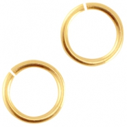 DQ Metall Bindering 4.5mm Gold (nickelfrei)