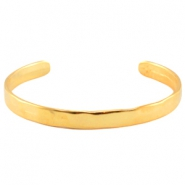 DQ Metall Armband Gold (nickelfrei)