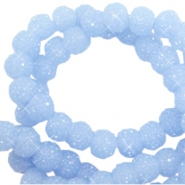 Sparkling beads 8mm Fresh blue